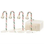 56 52621 north pole candy cane lampposts