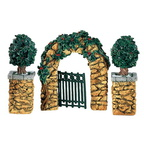 56 52648 village stone holly corner posts and archway