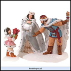 56 58976 crystal ice king queen set of 2 25th anniversary numbered limited edition of 25.000