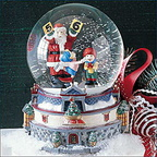 56 56834 glacier park waterglobe music box