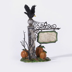 56 53144 spooky village sign