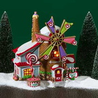 56 56762 the christmas candy mill
