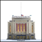808740 yankee stadium tm 2009 lighted ornament