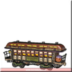 808992 haunted rails passenger car
