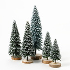4021208 snow covered pines set of 5