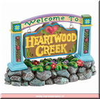4021339 welcome to heartwood creek sign