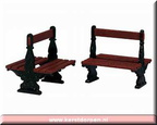 34899-two sided bench set of 2