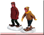 72385-rugged snowshoers  set of 2