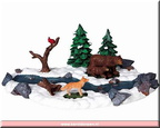 93744-bears by river set of 2