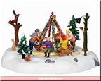 14340-holiday merry go round