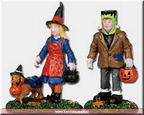 02840-trick or treating trio  set of 2