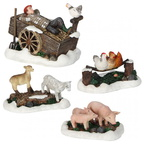609.100-farm scenery set of 4