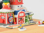 """Fisher-Price® Fun Factory"" North Pole Village 4036546"