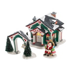 4028703 a visit with santa celebrate holiday set of 3 incl. the start of the season