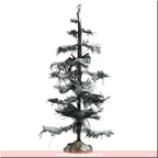 74258-glittering pine tree large 9.5in