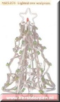 605076 lighted tree sculpture large