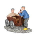601576 children with playing cart