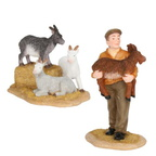 601617 schneewald farmer with goat