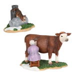 601526 Milking cow set of 2