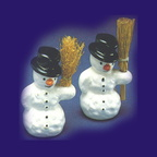 56 50180 snowman with broom