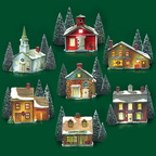 56 65307 new england village set of 7