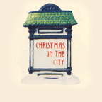56 59609 christmas in the city sign