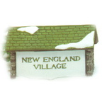 56 65706 new england village sign