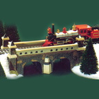 56 59811 village train trestle