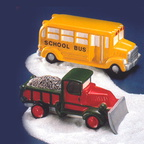 56 51373 school bus snow plow