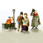 56 55883 christmas carol christmas morning figures