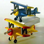 56 54585 spirit of snow village airplane