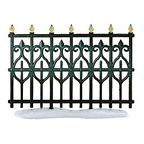 56 52531-victorian wrought iron fence extensions