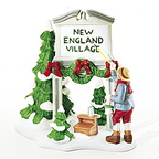 56 56592 fresh paint new england village sign