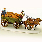 56 56591 harvest pumpkin wagon