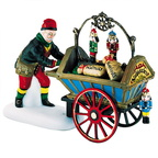 56 56183 nutcracker vendor and cart