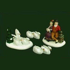 56 58383 vii the 12 days of dickens village seven swans-a