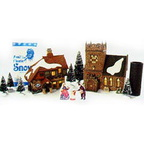 56 58322  start a tradition set - homes for the holidays se
