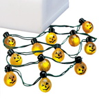 56 52700 village string of 12 pumpkin lights