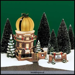 56 58451 the old royal observatory set of 2 incl.gold dome dec.1999-dec.1999numbered limited edition of 5.500