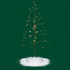 56 52301 village twinkle brite tree - large