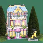 56.13230 eloise at home lighted building set of 2