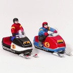 56 55136 snowmobile racers