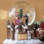 56 58556 royal tree court waterglobe music box