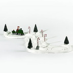 56 53030 north pole animated train with track