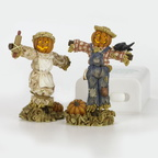 56 53061 lighted halloween scarecrows