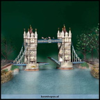 56 58705-tower bridge of london  set of 4 dec.2003-dec.2004 numbered limited edition of 20.000
