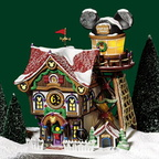 56 56759 mickeys north pole holiday house