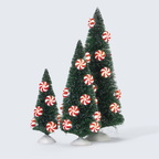 56 53194 lighted peppermint tree