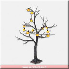 53270 lighted jack-o-lantern tree