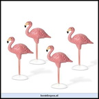 810818-village flamingos set of 4